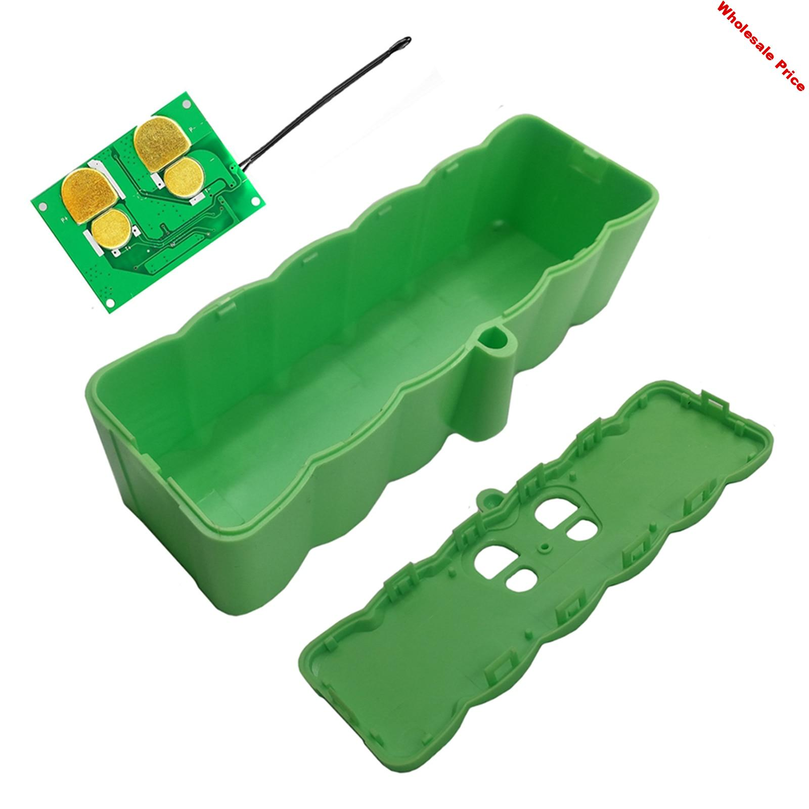 Plastic Lithium Battery Housing Shell Case for iRobot Roomba Robot Vacuum Cleaner 500 600 800 Series PCB Charging Circuit Board