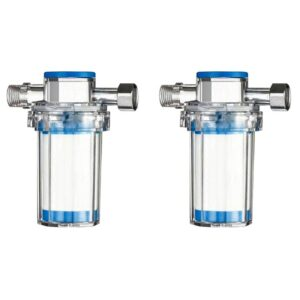 2Pcs Household Impurities Removal Washing Machine Water Heater Shower Shower Water Purifier Front Tap Water Purifier