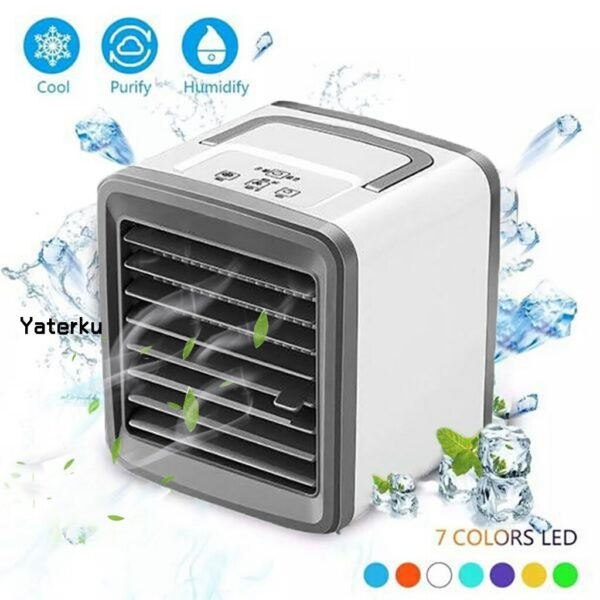 Mini Portable Air Conditioner Fan Refrigerator Air Cooler USB Charging air cooler Air-Condition for home office car#Y#g40