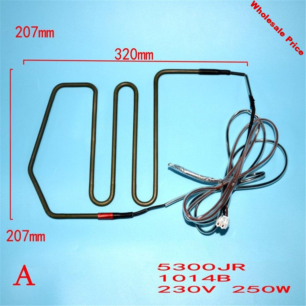 For LG Refrigerator Defrosting Heating Tube 5300JR1014 Defrost Electric Heating Wire Freezer Accessories