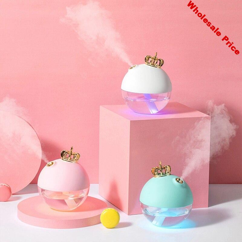 320ML Ultrasonic Air Humidifier Aroma Essential Oil Diffuser for Home Car USB Fogger Mist Maker with LED Night Lamp
