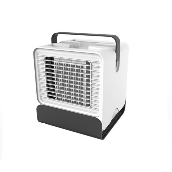 Mini Anion Air Conditioning Fan Desktop Cooler Office Refrigeration Mini Air Conditioner Cool Cooling Fan for Bedroom Home