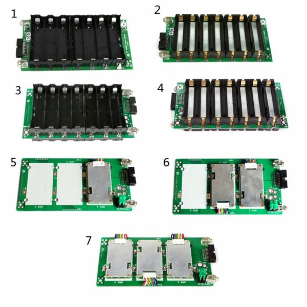7S Power Wall Balancer PCB 18650 Battery Holder Case 20/40/60A Protection Board U1JE