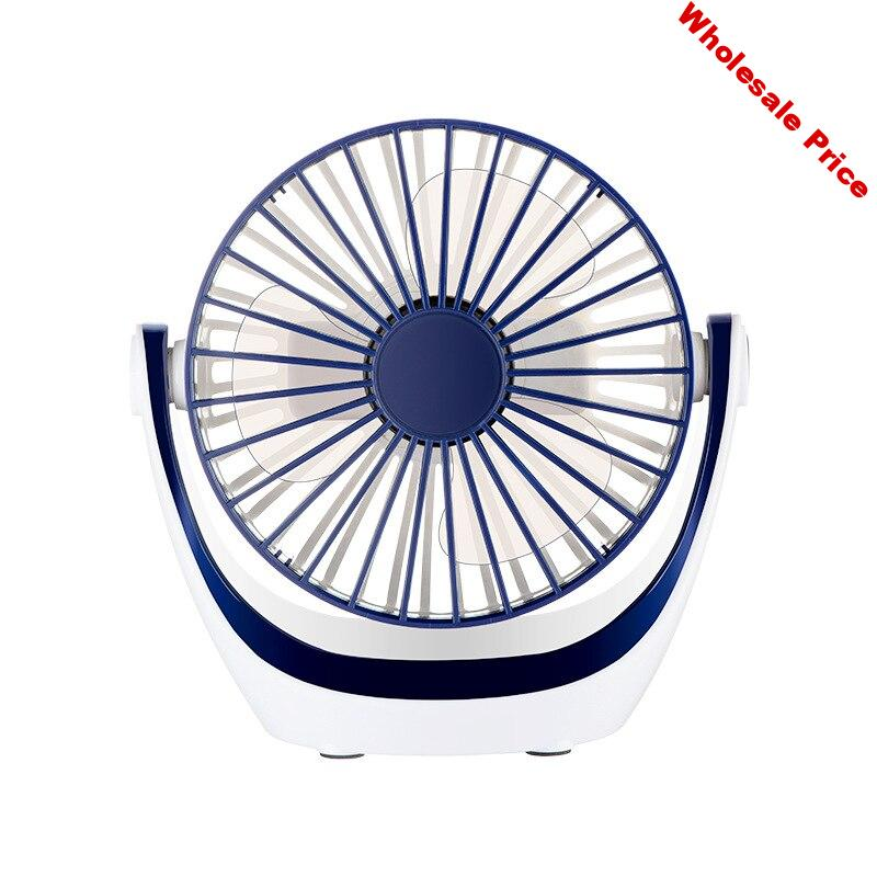Portable Mini Desktop Small Fan USB Charging Student Dormitory Table Fan Third Gear Adjustable Home Office Air Conditioner Fan