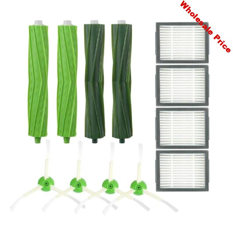 AD-Replacement Accessories Kit for Roomba I7 Series I7 I7+/I7 Plus E5 E6 E7 - Includes 4 Pack Filter