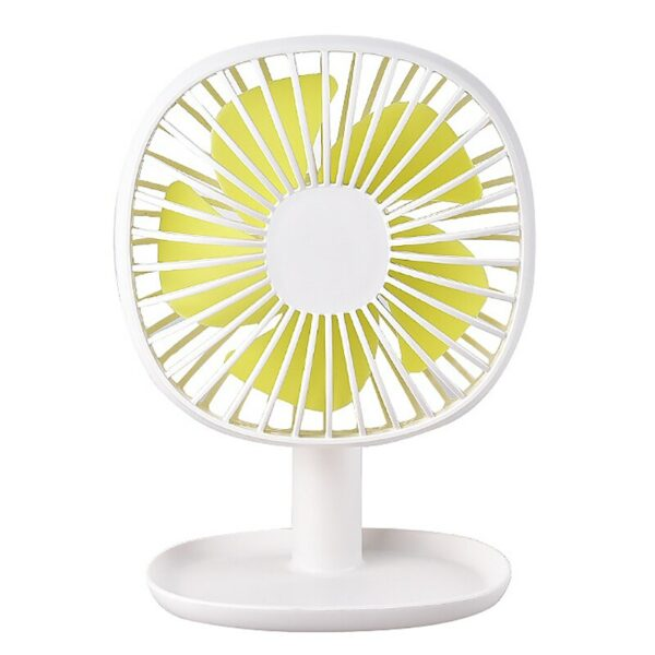 Hot TOD-Rechargeable Small Fan Easy To Carry Desktop Small Fan Chassis Can Hold Things