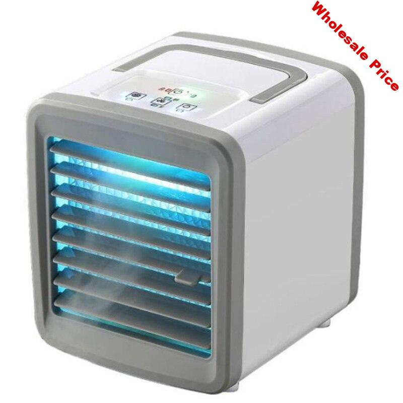 Portable Mini Air Cooler Small Air Cooler Office Air Purifier and Cooling Fan USB Charging 2 Speed Settings
