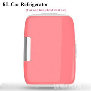 New Portable 5L Mini Car Refrigerator car home dual-use 12V Multi-Function dormitory bedroom Home Travel mini small car refrige