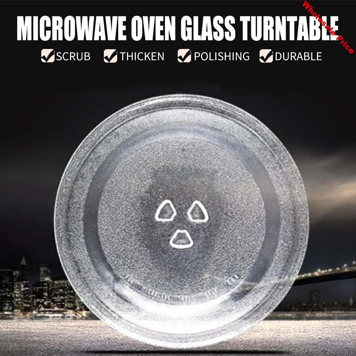 Univeral Microwave Oven Glass Turntable Plate Platter 245 mm Suits for Midea and Many Brand Thicken