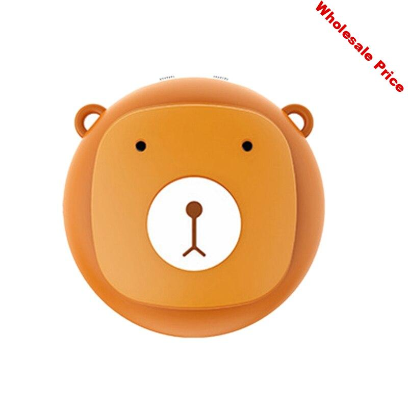 Bear Necklace Air Purifier Portable Personal Wearable Necklace Negative Ionizer Air Cleaner Air Freshener