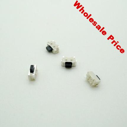 1000pcs/lot  2X4X3.5MM SMD Tact Switch side button switch MP3 MP4 MP5 Tablet PC switch