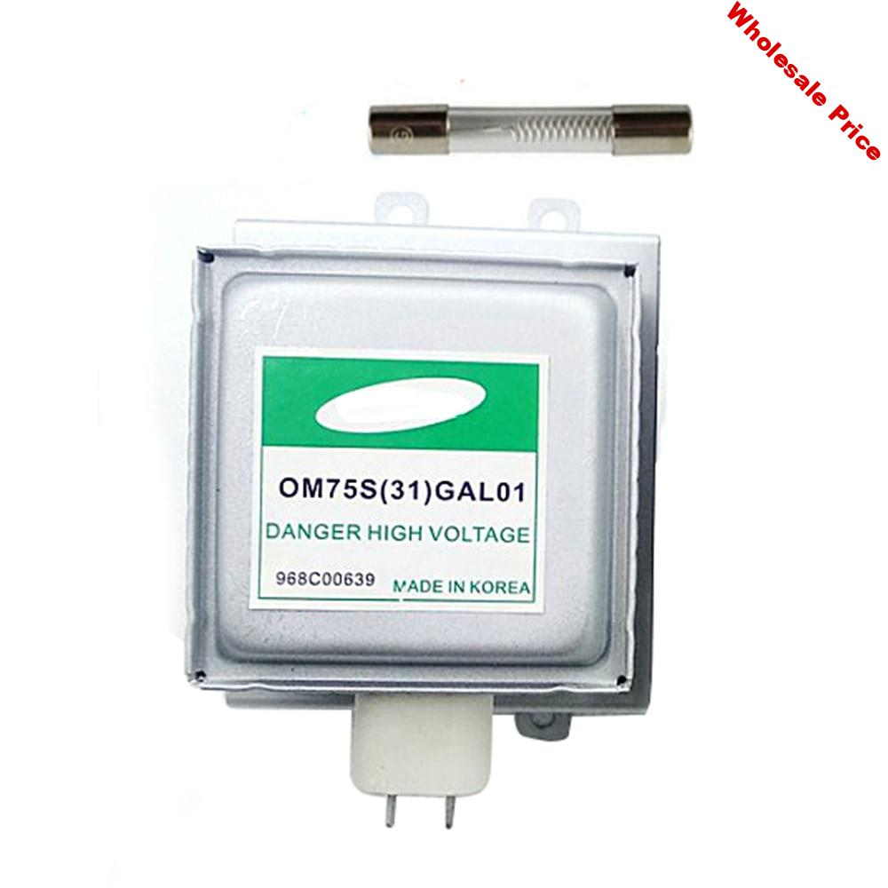 Replacement Microwave Oven Parts For Samsung Magnetron OM75S(31)GAL01 Refurbished Magnetron Microwave Oven