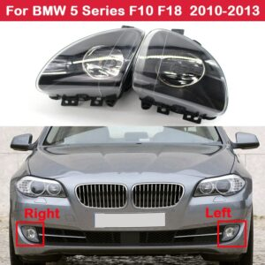 Front Bumper Fog Light Lamp Driving For  BMW 5 Series F10 F18 520d 520i 523li 525li 530li 2010-2013 63177216885 63177216886