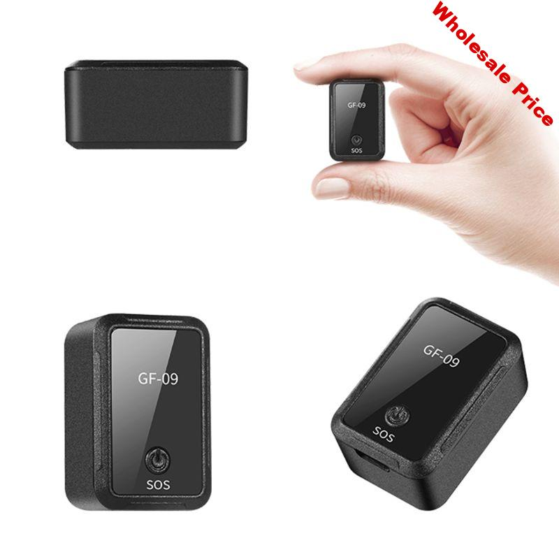 GF09 Mini Car GPS Locator Adsorption Recording Anti-dropping Device Voice Control Recording Real-time Tracking Equipment Tracker