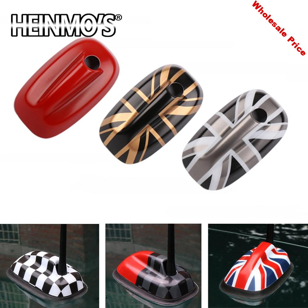 Decal Styling Accessories For Mini Cooper JCW F55 F56 Antenna Aerial Base Decoration Case Cover Housing Sticker For Mini Cooper
