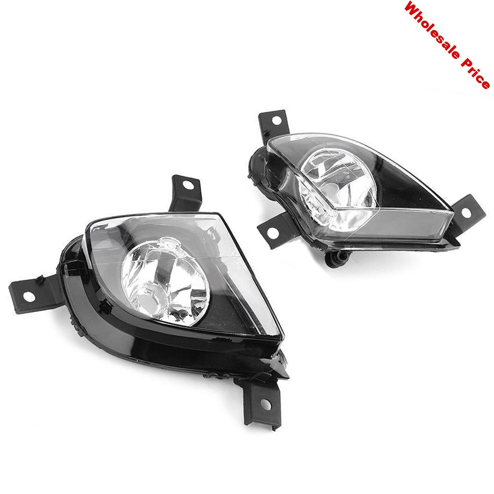 Left/ Right Front Bumper Fog Light Assembly For BMW E90 E91 328i 335i 2009 2010 2011 Driving Fog Lamps Without Bulb