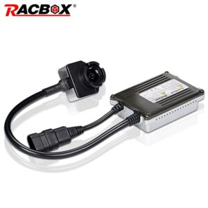 RACBOX 35W Fast Bright Slim HID Xenon Ballast D2S D2C D2R Canbus Ignition 12V 24V For Car Truck Vehicle Xenon HID Headlight Bulb