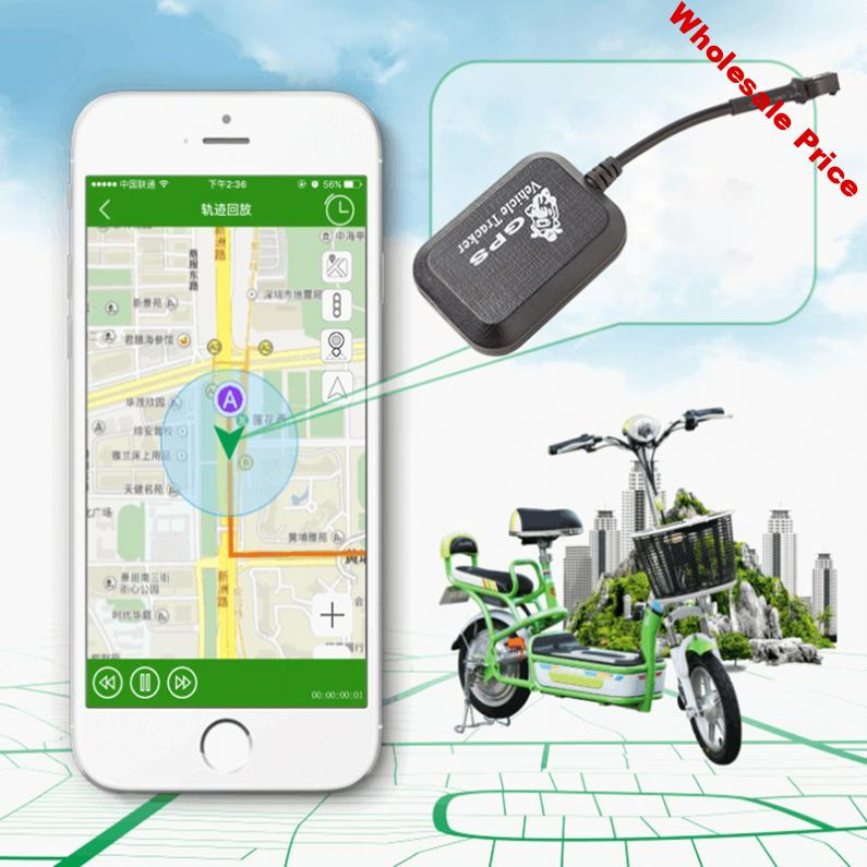 HOT Mini GSM / GPRS GPS Anti-theft SMS Real Time Tracking Tracker For Car Vehicle Motorcycle