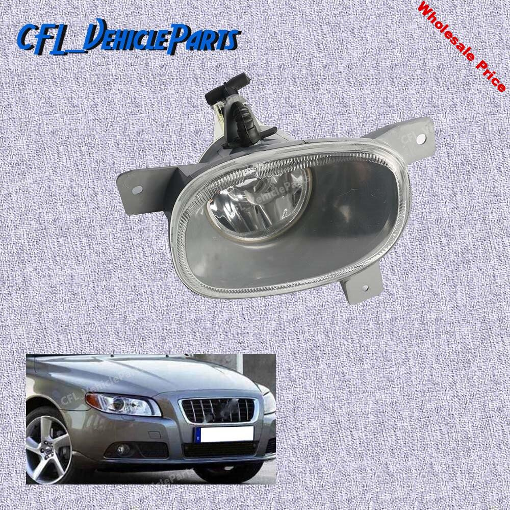Left Front Bumper Fog Light Lamp Foglight Without Bulb 8620224 For Volvo S80 1999 2000 2001 2002 2003 2004 2005 2006