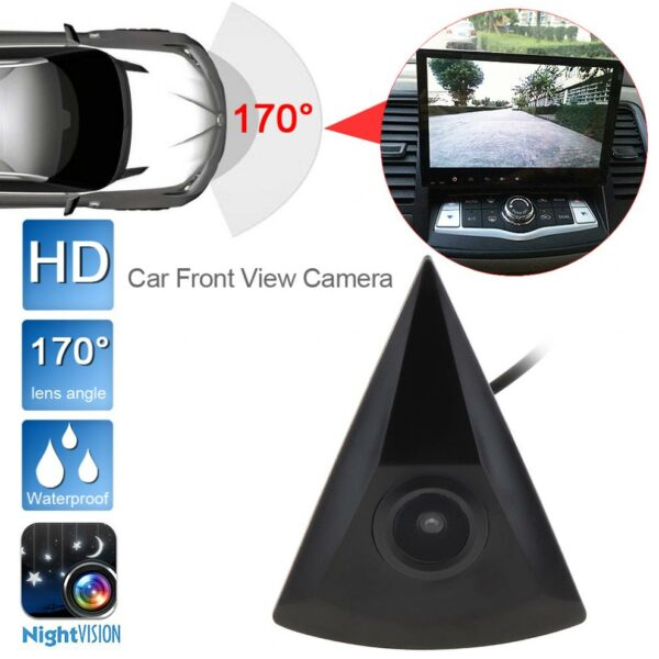 DC 12V 420TVL Auto Car Front View Camera Night Vision Waterproof 170 Wide Degrees Parking Camera for Volkswagen