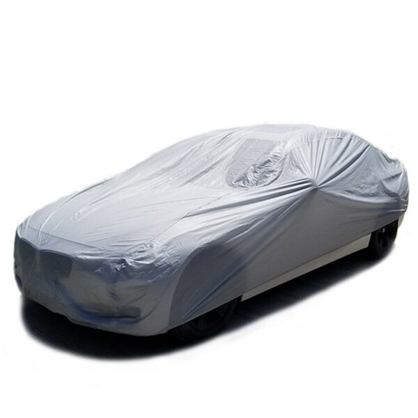 Car Cover Full Outdoor Sunscreen Heat Protection Dustproof Rain Snow Anti-UV Scratch-resistant Suit
