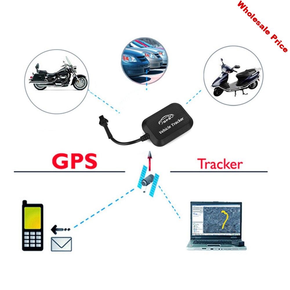 Mini Motorcycle GPS Tracker Car GPS LBS GPRS Positioning Device Vehicle Trunk GPS Locator Tracker With Off Oil Power Function