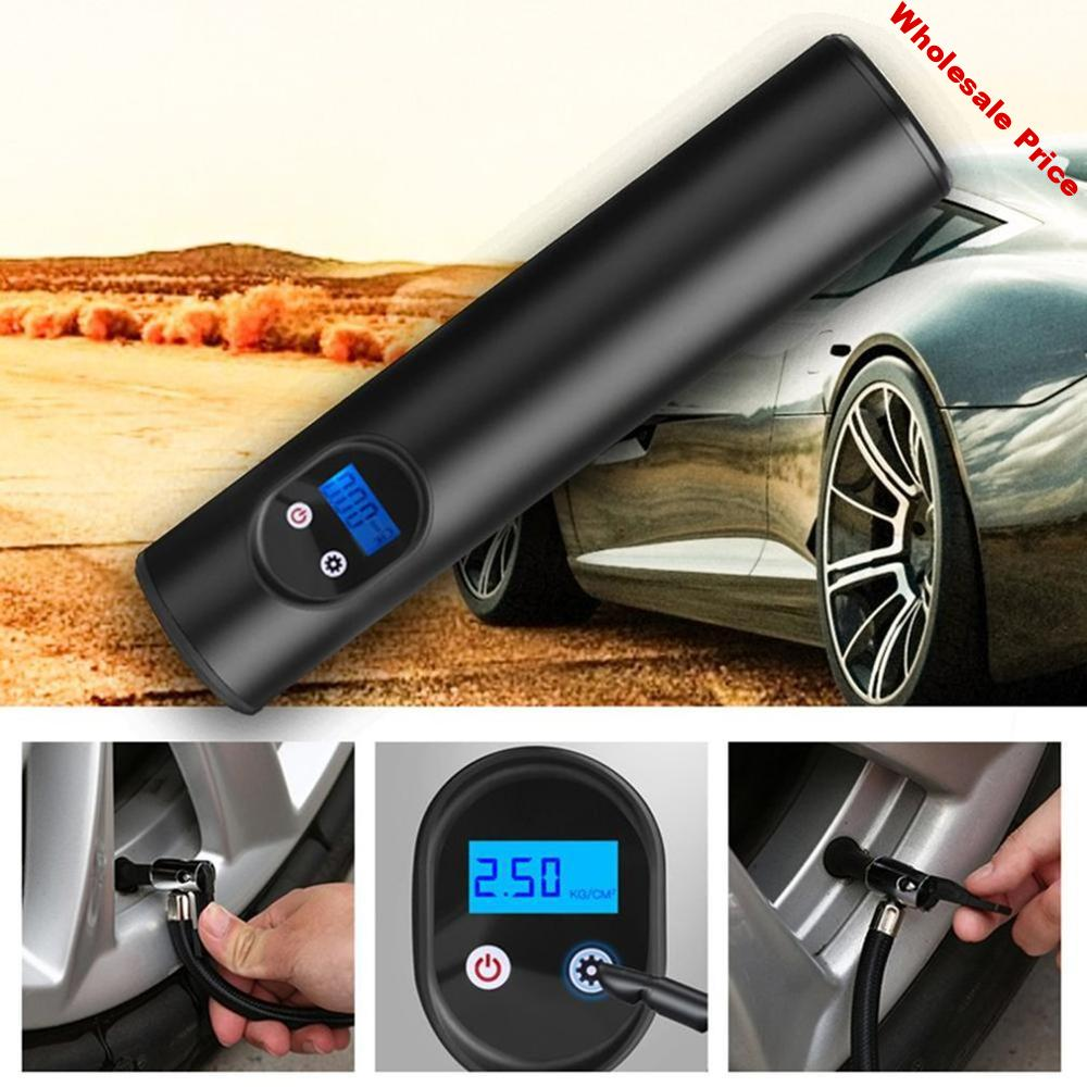 Tire Inflator Wireless Portable Compressor Digital Car Tire Pump 12V Rechargeable Air Pump For Car Bicycle Tire Balls