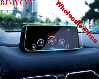 BJMYCYY Car Styling GPS Navigation Screen Tempered Steel Protective Film for Mazda cx5 cx-5 2017 2018