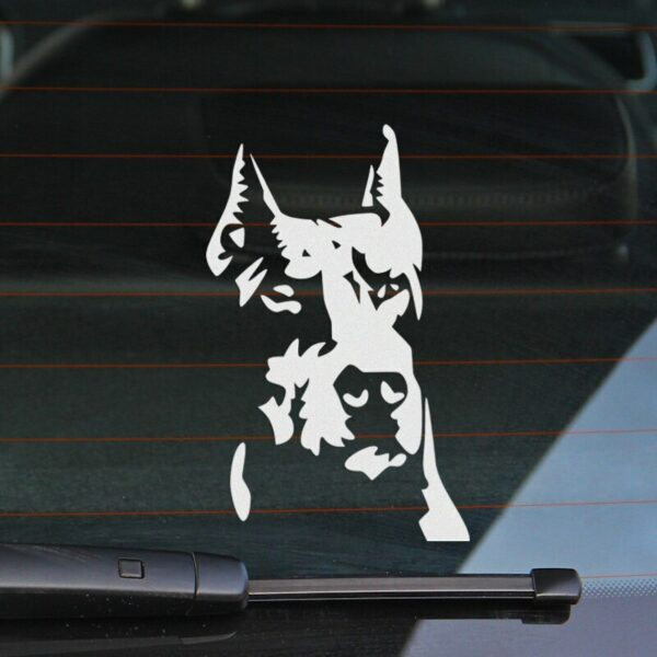 10 Pieces Customization Mr Dog Stickers Decal Car-Styling For vw audi ford bmw Honda Toyota opel Nissan SEAT Renault accessories