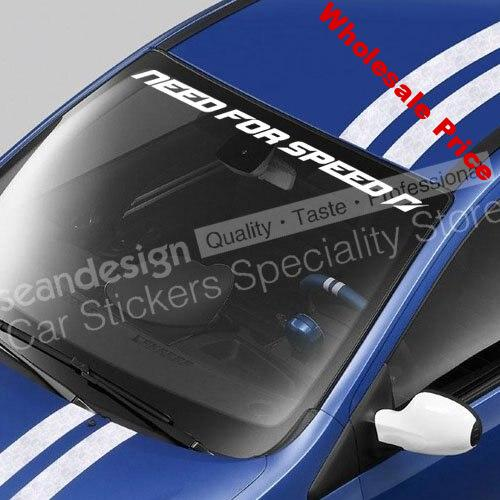 Need for Speed Shift Windshield Decal Sticker PVC