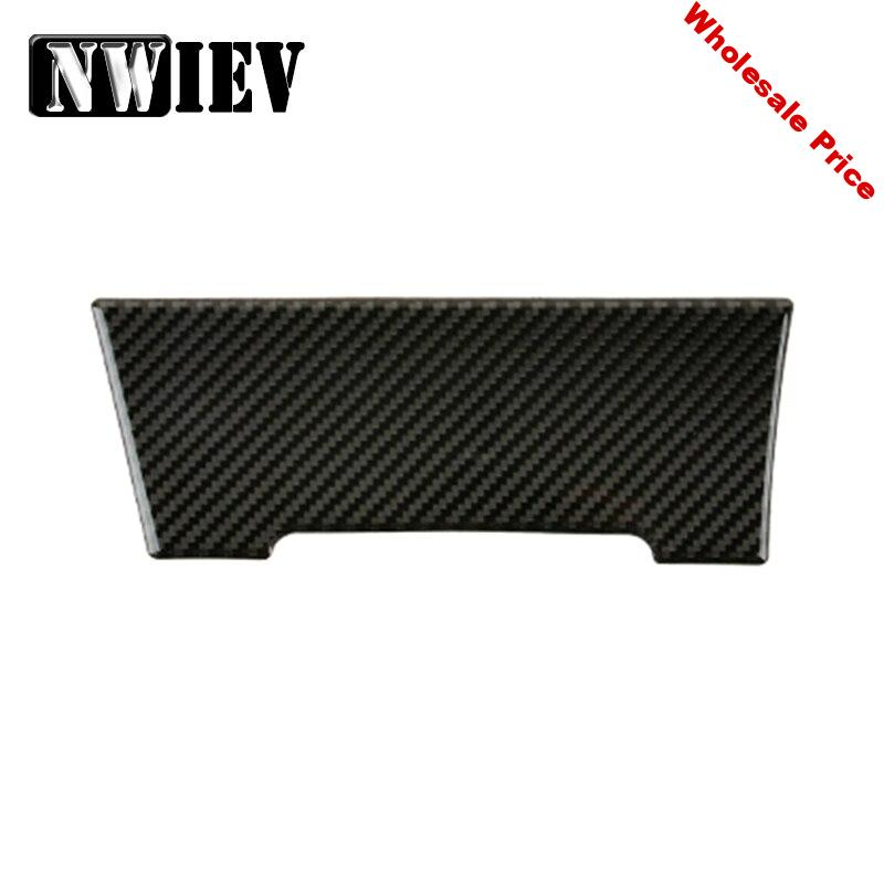 NWIEV Car Styling Stickers For Volkswagen VW Golf 7 GTI R GTE GTD MK7 2013-2017 LHD Carbon Fiber Central Console AC Accessories