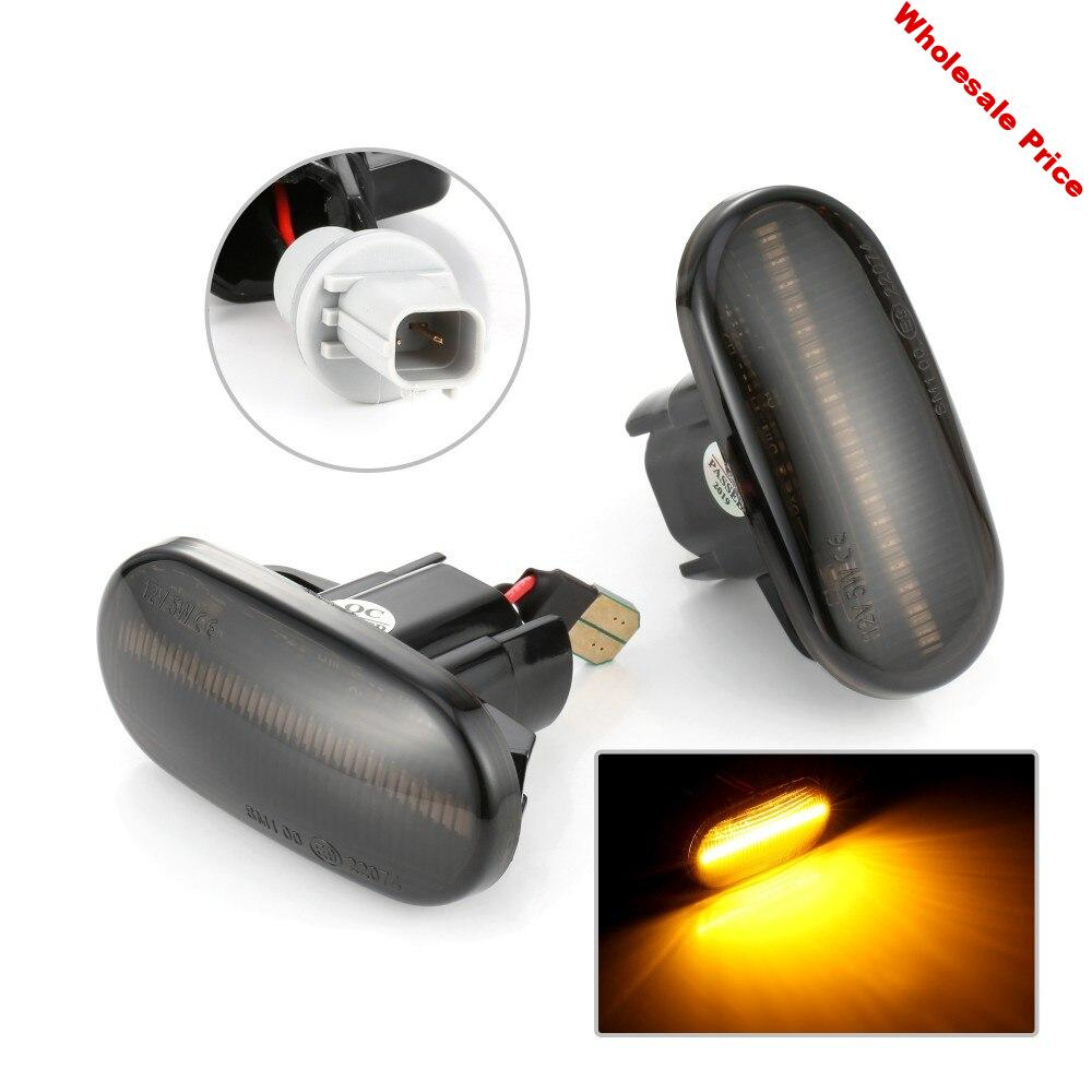 2 pieces Accessories LED side light for Honda Civic S2000 Acura imported car Integra plug play turn signal Ampoule Led Auto #4