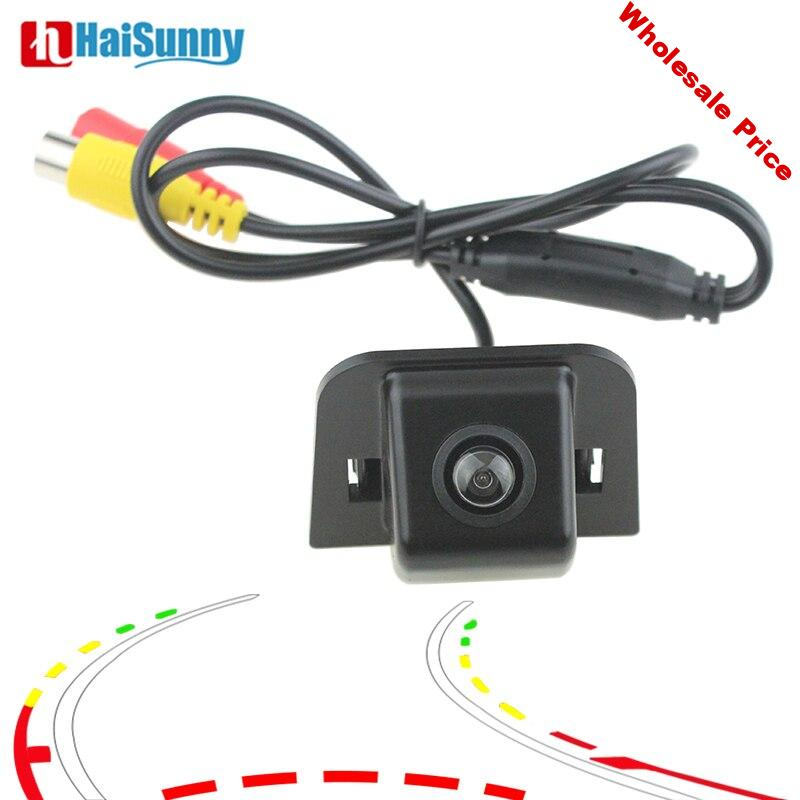 For Toyota Prius 2012 Reverse Camera Auto Rear View Backup Parking Camera Intelligent Dynamic Line System Waterproof Night View