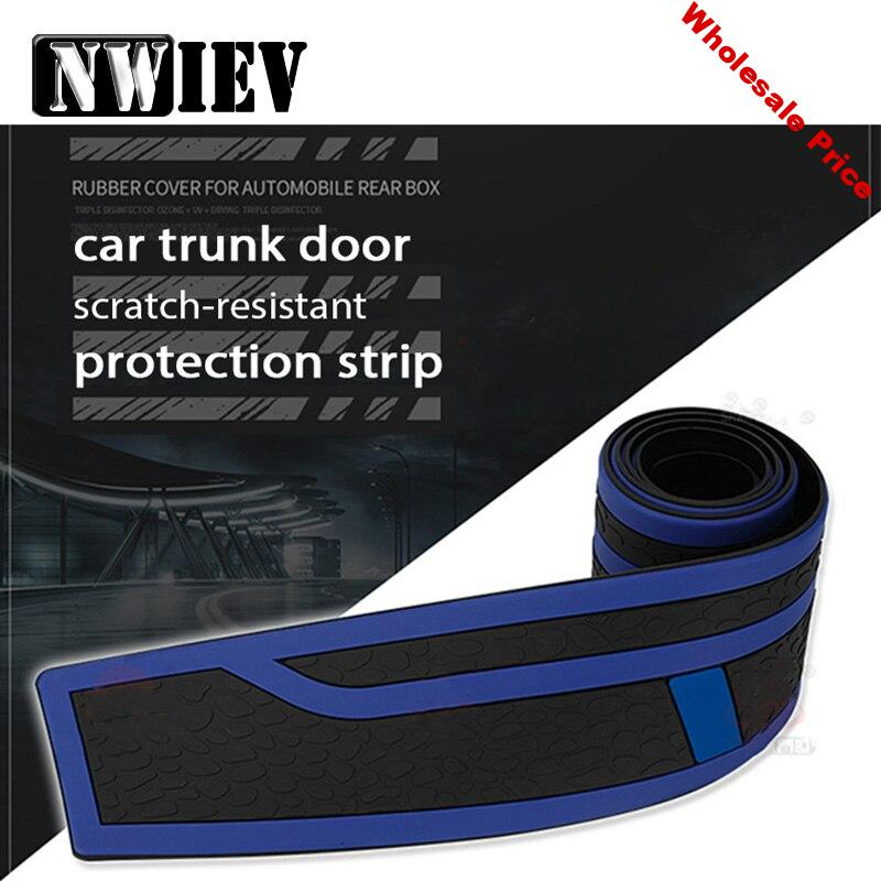 NWIEV 1x Car styling Rear Bumper Trunk Stickers For Renault Megane 2 Captur Mitsubishi ASX Wrangler Peugeot 207 508 Accessories