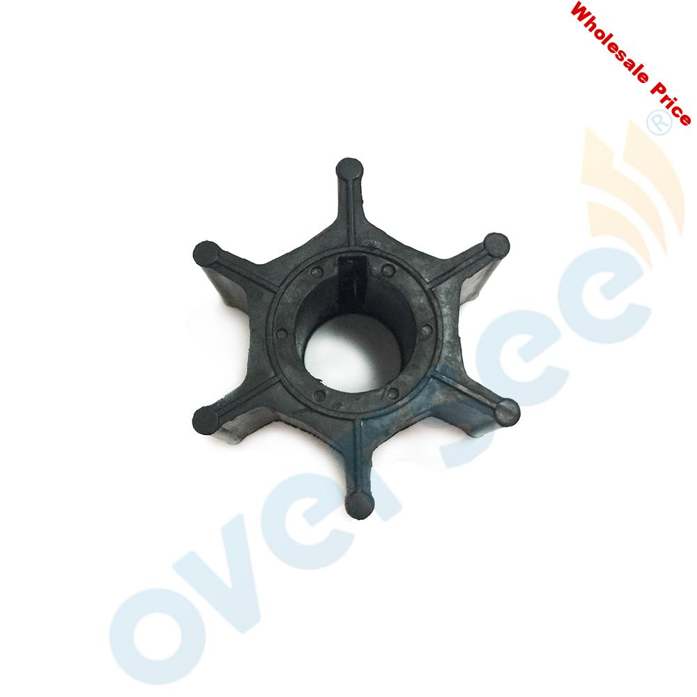 17461-93901 or 17461-93902 Water Pump Impeller For Suzuki 15HP 2 Stroke Outboard Engine Boat Motor Aftermarket Parts