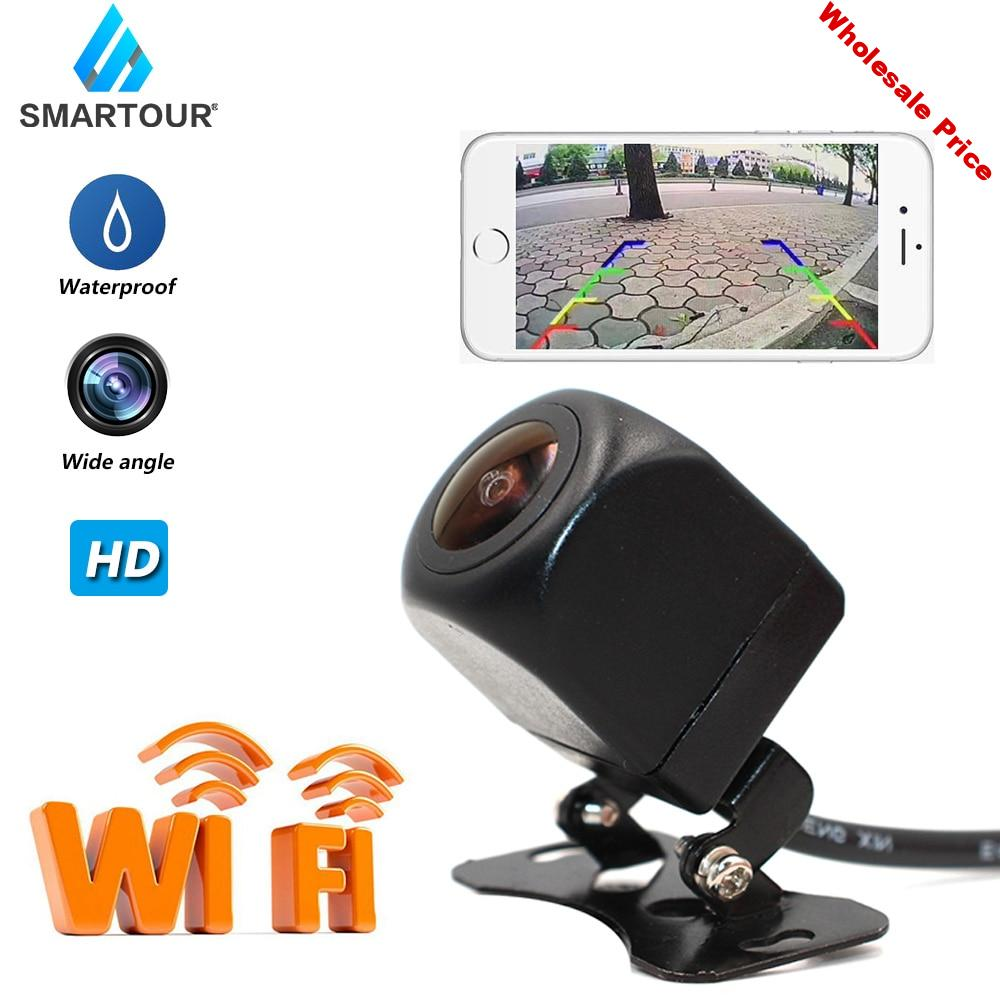 Smartour Wide Angle WiFi Wireless Car Rear View Camera HD Backup Reverse Camera Night Vision Durable And Practical