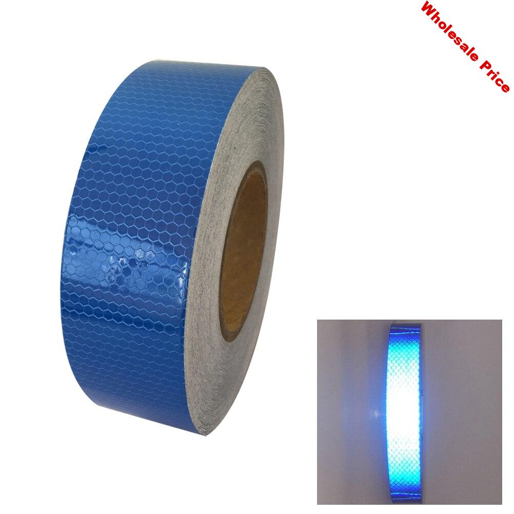 VORCOOL 45m X5cm Reflective Tape Sticker For Truck Motorcycle Bicycle Reflector 7 Colors Reflective Sticker Decoration