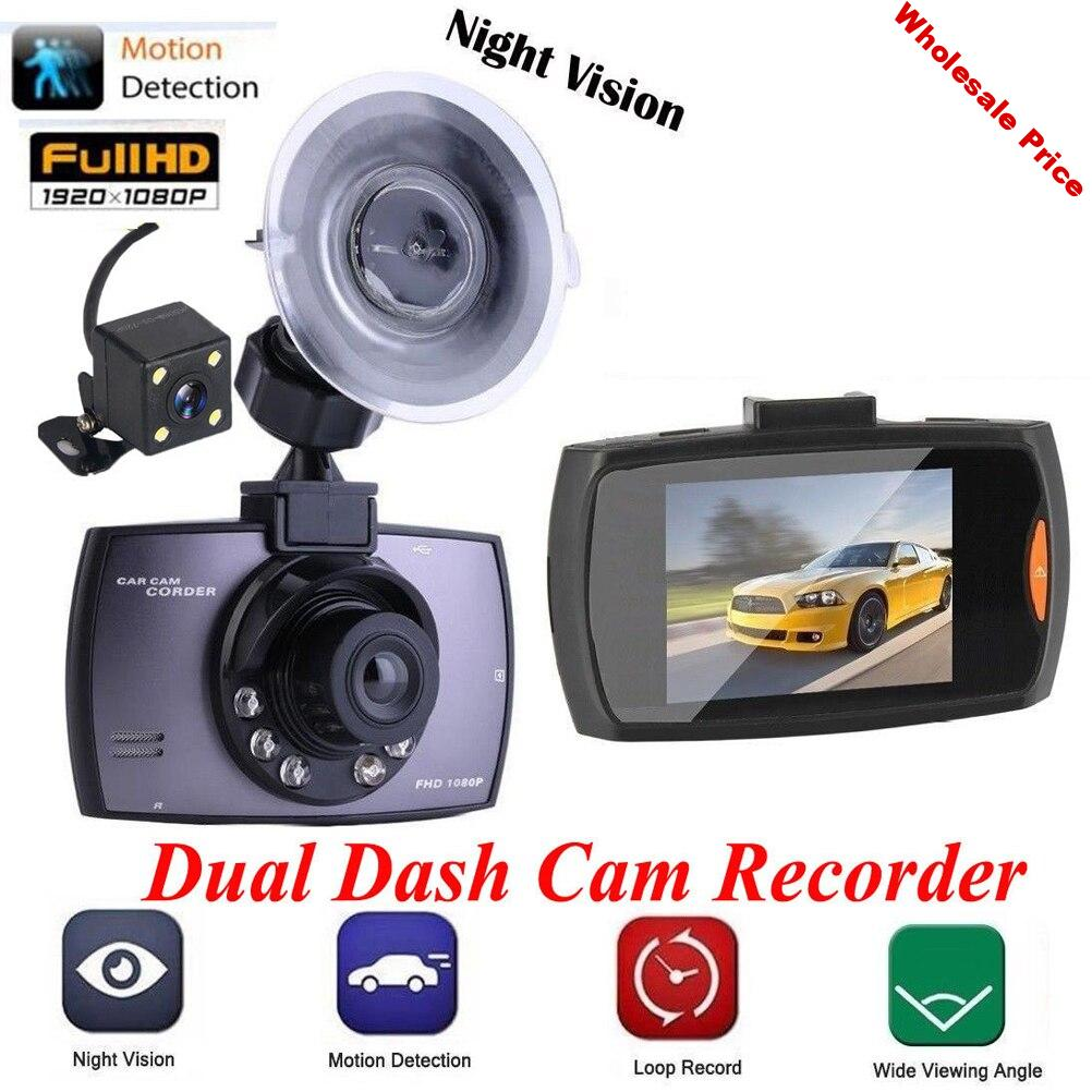 2.7 Inch Car DVR Camera Full HD 1080P 140 Degree Wide Angle Night Vision Camcorder Parking Monitor With G-Sensor Dash Cam