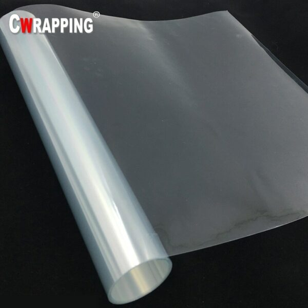50cm Clear Transparence Rhino Skin Protective Film Auto Car Bumper Hood Paint Anti Scratch Protection Sticker Car Accessories