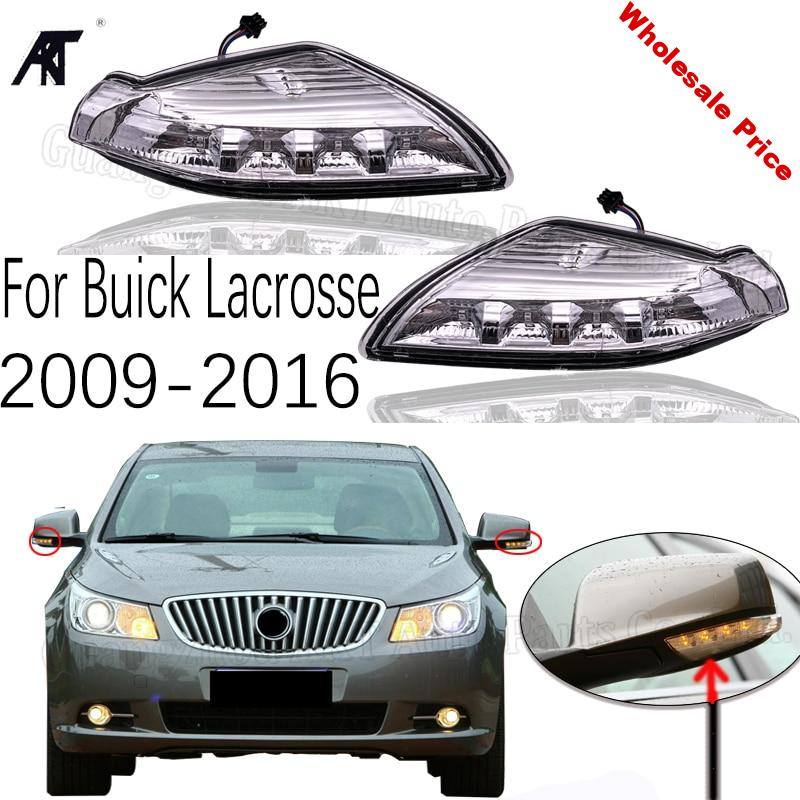 GOOD For Buick Lacrosse 2009 2010 2011 2012 2013 2014 2015 2016 Outside Side Rearview Mirror Turn Light Repeater Lamp
