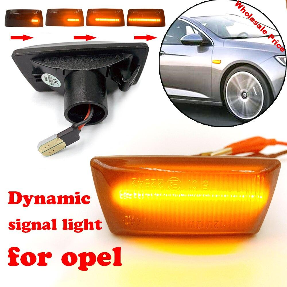 For Astra Opel Insignia Astra H Zafira B 2005 Corsa D Led Dynamic Side Marker Turn Signal Sequential Light For Chevrolet Cruze