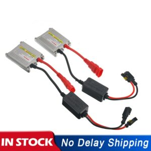 2pcs 12V Hid Xenon Ballast 35W Digital Slim Hid Ballast 35w Block Ignition Electronic Ballast For HID kit xenon H7 H4 H1 H3 H11