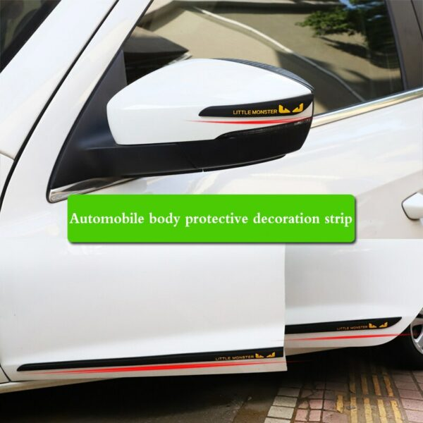 Car accessories rearview mirror anti-collision rubber sticker door protection anti-collision glue for Dodge charger journey ram