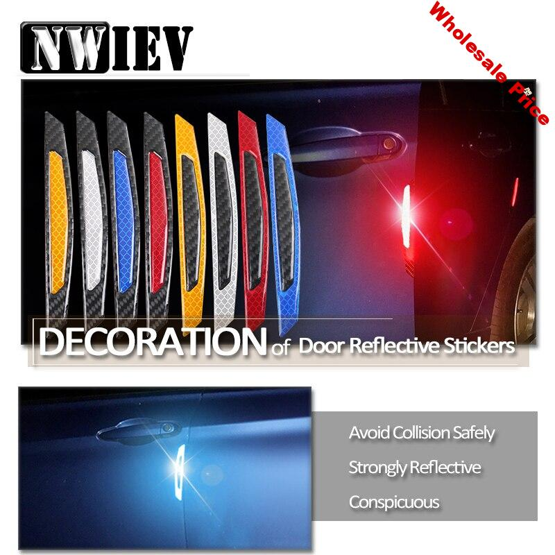 NWIEV Car Styling 3D Stickers For Abarth Fiat 500 BMW E60 E36 E34 Mercedes Benz W204 Volvo XC90 Door Wheel Eyebrow Accessories