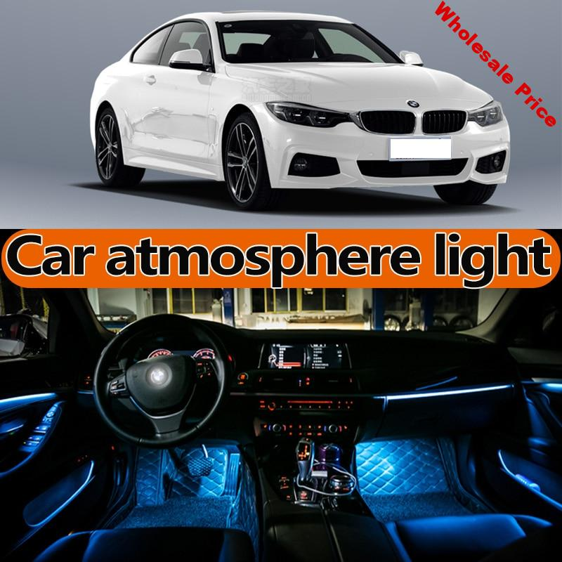 for BMW 4-series430 435 425 440 f32 f33 f36 atmosphere lamp foot light door light LED Modification accessories motive interior