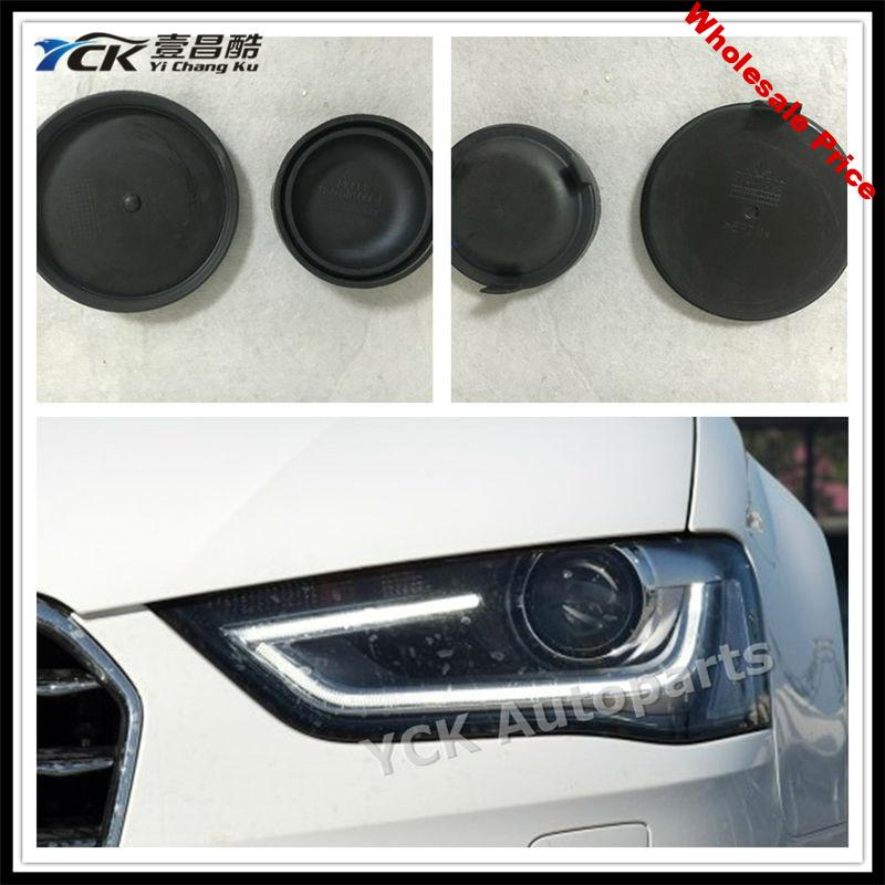 2PCS YCK Original A4L / B9 Front Headlights Back Cover  Waterproof Cover Dust cover 20001509  1300516068 (Genuine and Used)