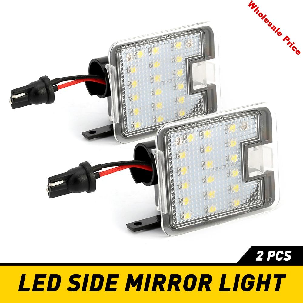 2x Led Under Mirror Puddle Light For Ford Escape 2015 2016 for Ford Focus 3 2010 2011 2012 2013 2014 2015 2016 2017 2018 2019