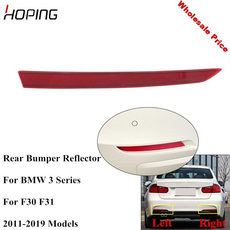 Hoping  Rear Bumper Reflector Fog Light For  For BMW 3 SERIES F30 F31 For Sport Package M For 316 318 320 325 328 330 2011-2019