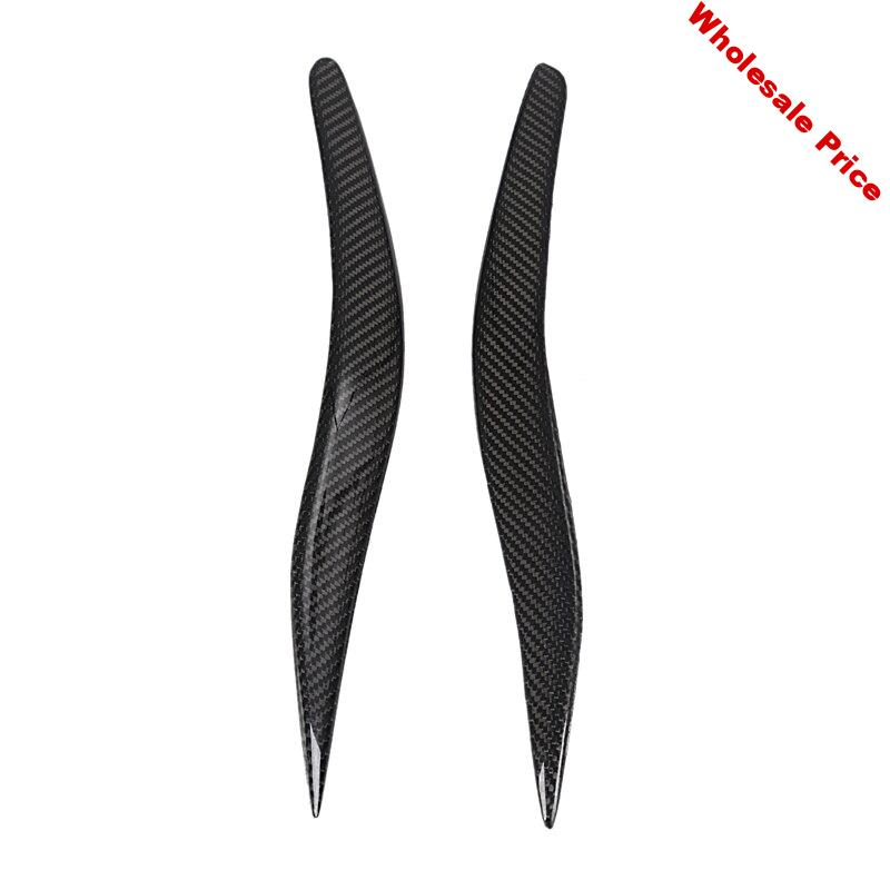 Carbon Fiber Headlight Cover Eyebrow Eyelid Fit for IS250 IS300 IS200