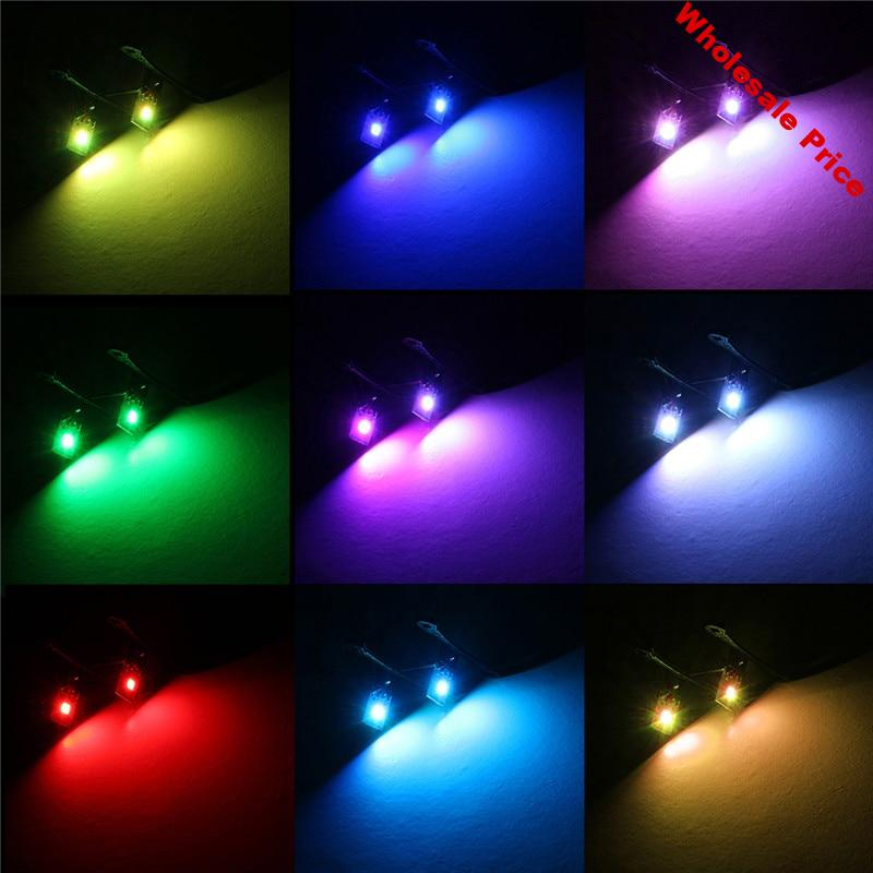 Multi-color RGB Demon Eye LED devil eyes for projector lens with Wireless Remote For Car Motorcycle Headlights Projector Retrofi